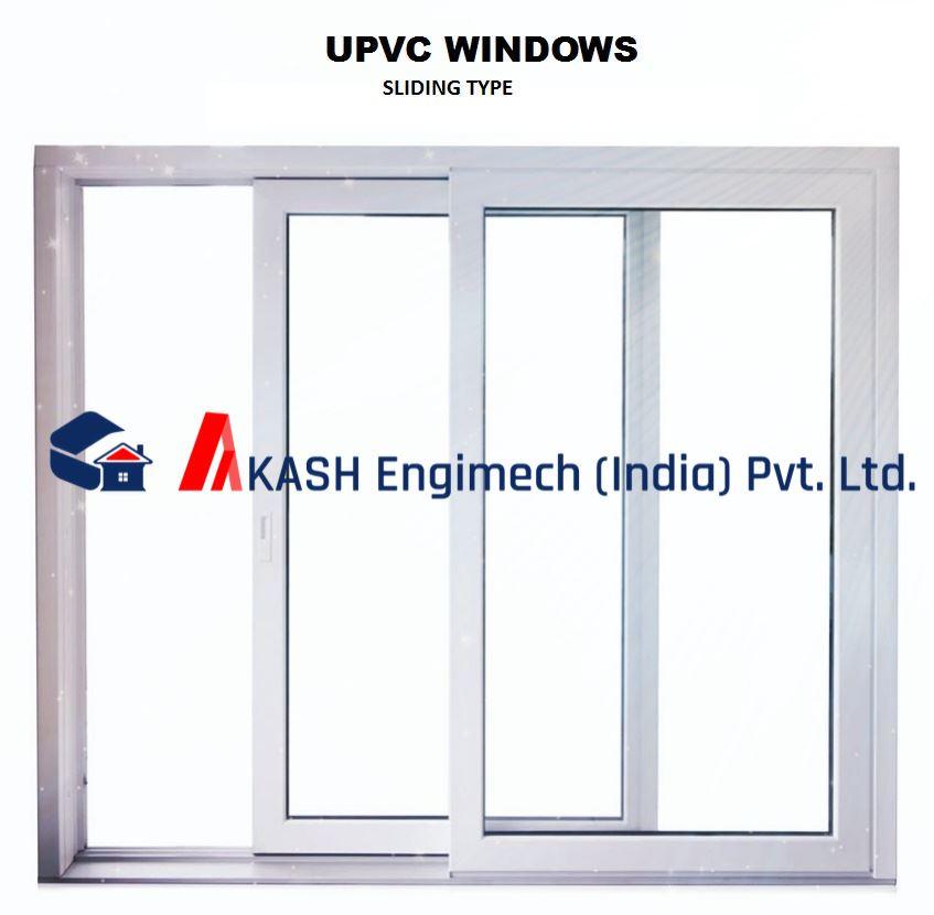 Akash Engimech India Pvt Ltd Upvc Sliding Window 4 X 2 5 Ft