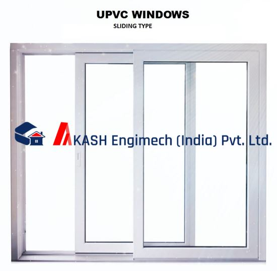 Picture of uPVC Sliding Window 4' x 2.5' Ft