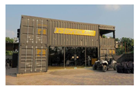 Picture of Container Building -  Car Showroom