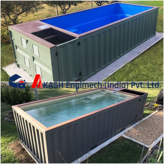 Picture of 20' Swimming Pool Container