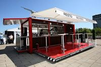 Picture of Container Restaurant with Hydraulic Systems