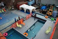 Picture of outdoor swimming pool