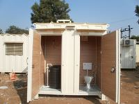Picture of porta toilet