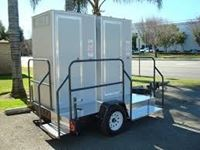 Picture of VIP mobile toilet van