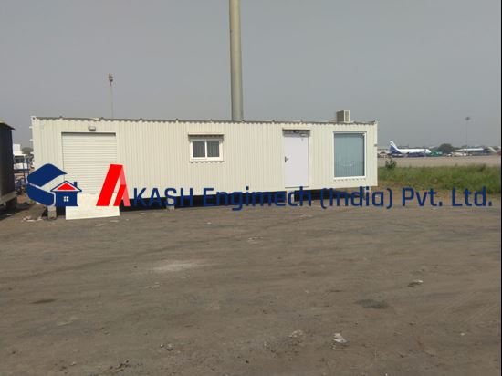 Picture of builder site office
