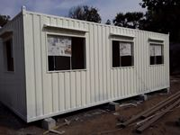 Picture of low cost container office