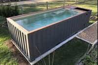 20' Swimming Pool Container