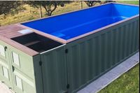 Outdoor Swimming pool Container