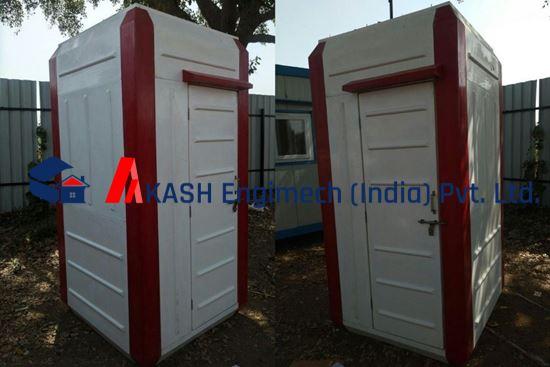 Picture of FRP portalbe toilet