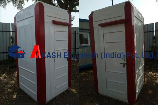 Picture of High Quality Cheap FRP Toilet