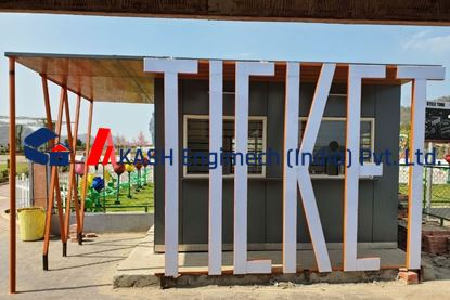 Picture of Ticket Booth Container
